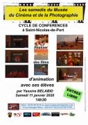 Conférence Réaliser des films d'animation St-Nicolas-de-Port 54210 Saint-Nicolas-de-Port du 11-01-2020 à 14:30 au 11-01-2020 à 17:00