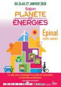Planète Energies Epinal Salon des économies d'énergie 88000 Epinal du 24-01-2020 à 10:00 au 27-01-2020 à 19:00