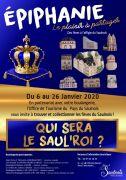 Qui sera le Saul'roi ? Fèves du Saulnois 57170 Château-Salins du 06-01-2020 à 10:00 au 26-01-2020 à 10:00