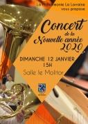 Concert Nouvel An par la Philharmonie La Lorraine à Hayange 57700 Hayange du 12-01-2020 à 15:00 au 12-01-2020 à 16:00