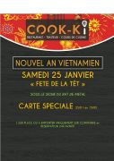 Nouvel An Vietnamien Restaurant Cook-ki à Nancy