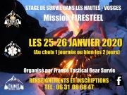 Stage découverte dans les Hautes-Vosges  88250 La Bresse du 25-01-2020 à 08:00 au 26-01-2020 à 17:30