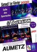 Tourdion Plus et Ados à Aumetz 57710 Aumetz du 01-02-2020 à 20:30 au 01-02-2020 à 22:30