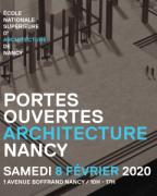 Journée Portes Ouvertes École Architecture Nancy 54000 Nancy du 08-02-2020 à 10:00 au 08-02-2020 à 17:00