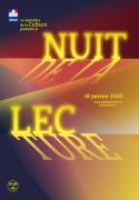 La Nuit de la Lecture à Thionville 57100 Thionville du 18-01-2020 à 15:00 au 18-01-2020 à 22:00