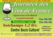 Journées des Vins de France à Seichamps 54280 Seichamps du 01-02-2020 à 10:00 au 02-02-2020 à 19:00