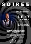 Soirée Hypnose au Fort Pélissier 54550 Bainville-sur-Madon du 17-01-2020 à 19:30 au 17-01-2020 à 23:30