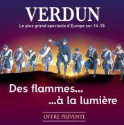 Prévente Spectacle Des Flammes à la Lumière Verdun 55100 Verdun du 10-01-2020 à 08:00 au 01-05-2020 à 21:59