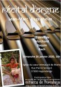 Récital d'Orgue à Hagondange 57300 Hagondange du 26-01-2020 à 16:00 au 26-01-2020 à 18:00