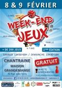 Week-end Jeux à Chantraine 88000 Chantraine du 08-02-2020 à 13:30 au 09-02-2020 à 18:00