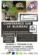 Conférence sur le Blaireau à Ludres 54710 Ludres du 01-02-2020 à 09:00 au 01-02-2020 à 12:00