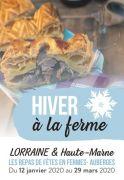Goûtez l'Hiver à la Ferme en Lorraine Meurthe et Moselle, Meuse, Moselle, Vosges du 12-01-2020 à 10:00 au 29-03-2020 à 21:00