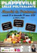 Marché de Printemps Plappeville 57050 Plappeville du 28-03-2020 à 10:30 au 29-03-2020 à 18:30