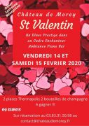 Soirée Dîner Prestige Saint Valentin au Château de Morey