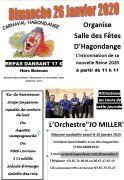 Intronisation Reine Carnaval d'Hagondange  57300 Hagondange du 26-01-2020 à 11:00 au 26-01-2020 à 18:00