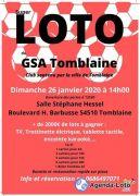 Super Loto du GSAT à Tomblaine 54510 Tomblaine du 26-01-2020 à 14:00 au 26-01-2020 à 18:00