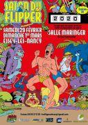 Salon du Flipper à Essey-lès-Nancy