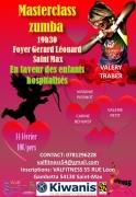 Masterclass Zumba à Saint-Max 54130 Saint-Max du 14-02-2020 à 19:30 au 14-02-2020 à 22:00