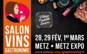Salon des Vins et de la Gastronomie à Metz  57000 Metz du 28-02-2020 à 10:00 au 01-03-2020 à 18:00