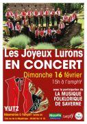 Concert de Printemps des Joyeux Lurons à Yutz