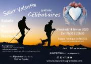Balade Saint-Valentin Gérardmer spécial célibataires 88400 Gérardmer du 14-02-2020 à 17:00 au 14-02-2020 à 20:30