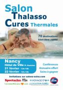 Salon Thalasso et Cures Thermales à Nancy 54000 Nancy du 21-02-2020 à 13:00 au 22-02-2020 à 18:00