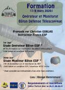 Formation Bâton Télescopique et Monitorat à La Bresse 88250 La Bresse du 07-03-2020 à 08:00 au 08-03-2020 à 20:00