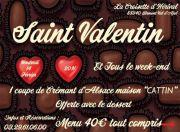Saint Valentin à La Croisette d'Hérival  88340 Girmont-Val-d'Ajol du 14-02-2020 à 20:00 au 16-02-2020 à 23:59