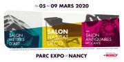 Salon Habitat Déco Nancy Métiers d'Art, Antiquaires 54500 Vandoeuvre-lès-Nancy du 05-03-2020 à 10:00 au 09-03-2020 à 18:00
