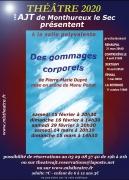 Théâtre Des Gommages Corporel à Monthureux-le-Sec 88800 Monthureux-le-Sec du 15-02-2020 à 20:30 au 15-03-2020 à 16:00