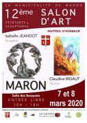 Salon d'Art de Peinture et Sculpture à Maron 54230 Maron du 07-03-2020 à 10:00 au 08-03-2020 à 18:00