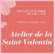 Atelier Saint-Valentin à Toul Cadeau en Verre 54200 Toul du 05-02-2020 à 14:00 au 12-02-2020 à 17:00