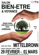 Salon Bien-Être et Voyance à Mittelbronn 57370 Mittelbronn du 29-02-2020 à 10:00 au 01-03-2020 à 18:00