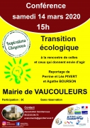 Conférence Transition Ecologique à Vaucouleurs 55140 Vaucouleurs du 14-03-2020 à 15:00 au 14-03-2020 à 17:00