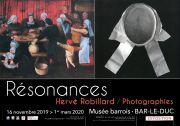 Résonances Exposition à Bar-le-Duc Musée Barrois 55000 Bar-le-Duc du 16-11-2019 à 14:00 au 01-03-2020 à 18:00