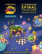 Festival Jeux et Cie à Épinal 88000 Epinal du 06-03-2020 à 13:30 au 08-03-2020 à 18:00