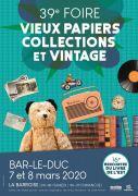 Foire Vieux Papiers et Collections Bar-le-Duc