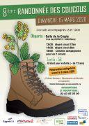 Randonnée des Coucous à Nancy 54000 Nancy du 15-03-2020 à 13:30 au 15-03-2020 à 20:30