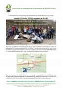 Opération collecte de déchets en Forêt de Haye 54840 Velaine-en-Haye du 22-02-2020 à 09:00 au 22-02-2020 à 11:30