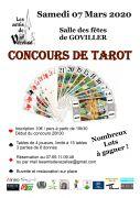Concours de Tarot à Goviller  54330 Goviller du 07-03-2020 à 19:30 au 07-03-2020 à 23:55