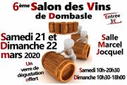 Salon des Vins à Dombasle-sur-Meurthe 54110 Dombasle-sur-Meurthe du 21-03-2020 à 10:30 au 22-03-2020 à 18:00