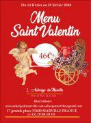 Saint-Valentin prolongée Auberge de Marville 55600 Marville du 14-02-2020 à 18:00 au 29-02-2020 à 14:00
