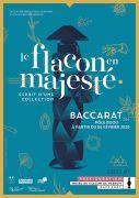 Exposition le Flacon en Majesté Baccarat 54120 Baccarat du 06-02-2020 à 10:00 au 31-12-2020 à 18:00
