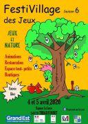 Festival FestiVillage des Jeux à Thiaucourt-Regnéville