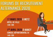 Forum de Recrutement en Alternance à Metz 57000 Metz du 17-03-2020 à 14:00 au 17-03-2020 à 18:00