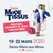 Salon Mode et Tissus à Sainte-Marie-Aux-Mines 68160 Sainte-Marie-aux-Mines du 19-03-2020 à 09:30 au 22-03-2020 à 18:00