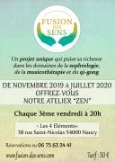 Atelier Fusion des Sens à Nancy 54000 Nancy du 21-02-2020 à 20:00 au 17-04-2020 à 21:30
