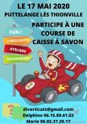 Course de Caisses à savon à Puttelange-lès-Thionville 57570 Puttelange-lès-Thionville du 17-05-2020 à 08:00 au 17-05-2020 à 18:00