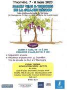 Salon Vins et Terroirs de la Grande Région Thionville 57100 Thionville du 07-03-2020 à 11:00 au 08-03-2020 à 18:00