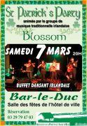 Fête de la Saint-Patrick à Bar-le-Duc  55000 Bar-le-Duc du 07-03-2020 à 19:00 au 17-03-2020 à 20:00